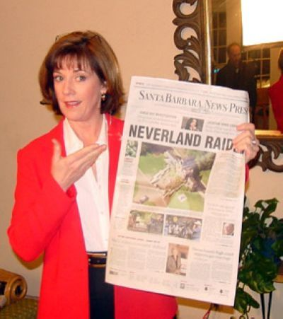 DD Was Only Reporter on Hand to Watch the 2003 Neverland Raid. Big News Next Day