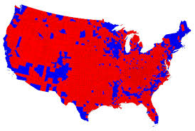 In 2016, the Electoral Map Turned Decidedly Red