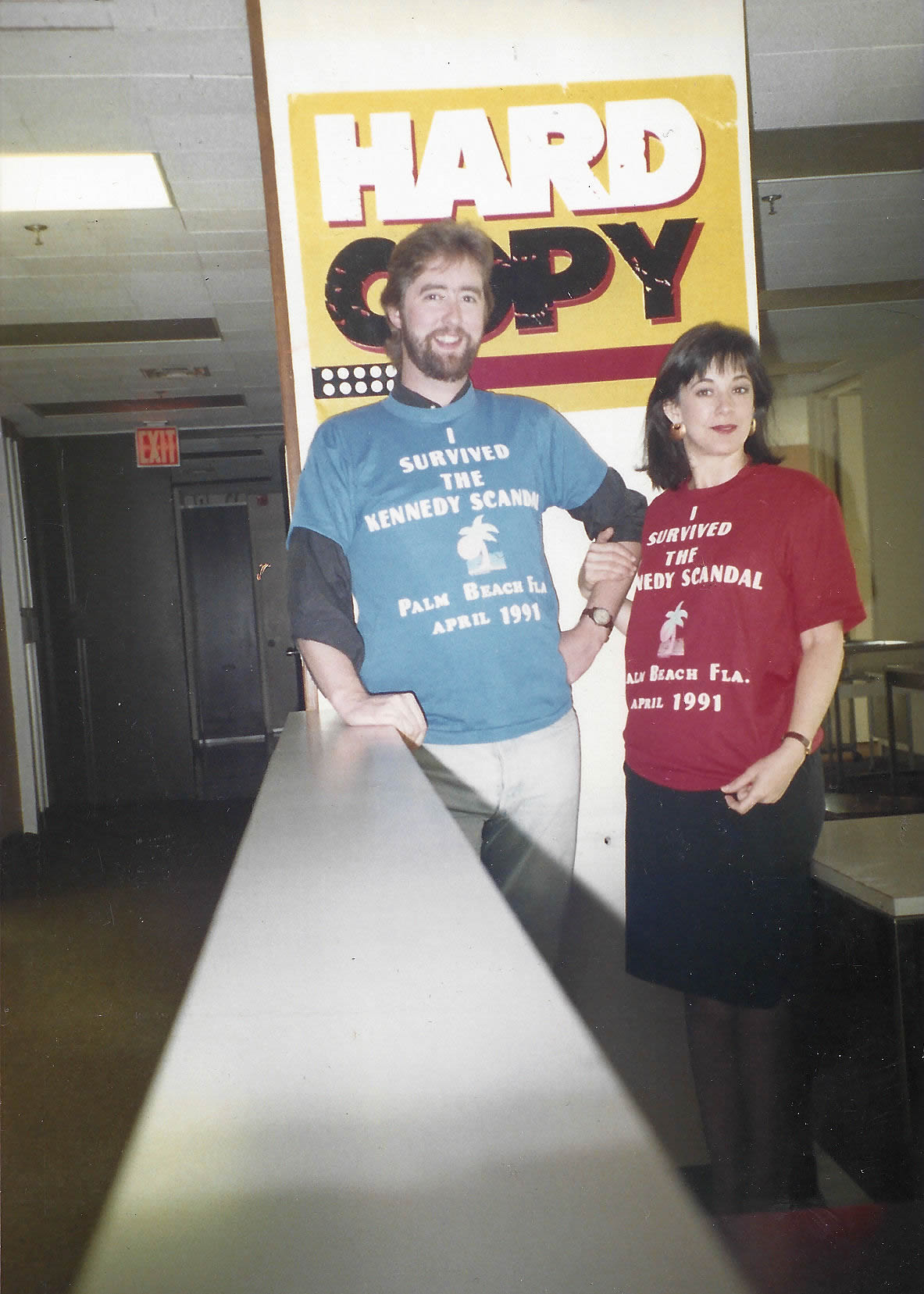 04 Diane and Producer Jerry Burke Broke the William Kennedy Smith Case for Hard Copy