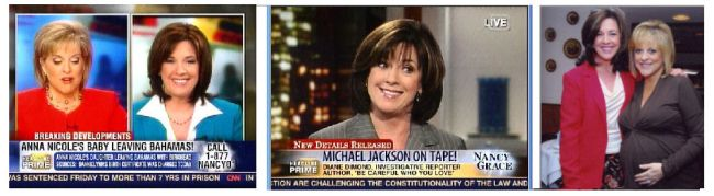 21 Diane Often Appeared on Graces HLN Show Cohosted Nancys 2007 Baby Shower