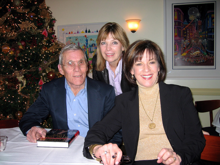 29 LA Book Signing - DD with Hal Needham and his wife Ellyn Williams