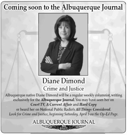 30 Diane Begins Her Crime & Justice Column with ABQ Journal circa 2008