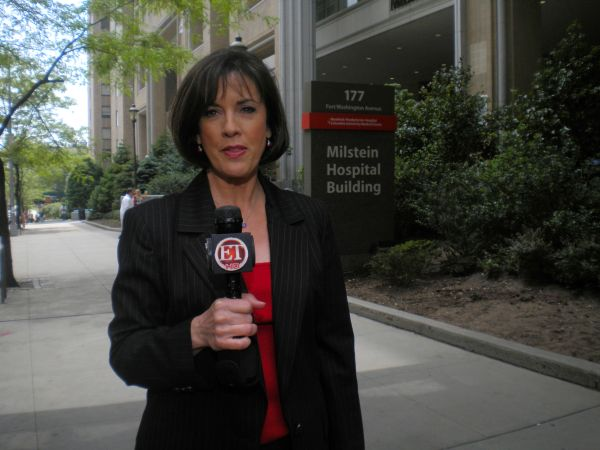48 Reporting in NYC for Entertainment Tonight - Barbara Walters Heart Surgery May, 2010