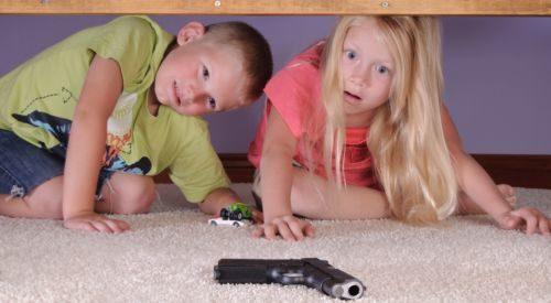 Guns + Kids = Potential Tragedy