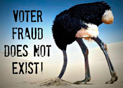 Voting Fraud Exists – It Just Does