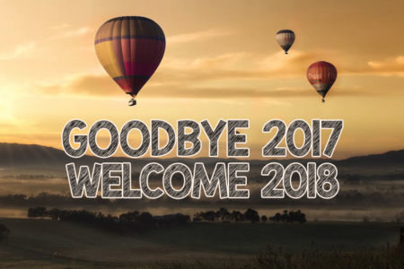 Saying Goodbye to 2017, With High Hopes For 2018