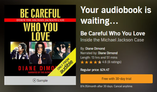 be careful who you love audio cover