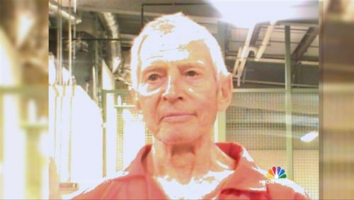 This mugshot of Robert Durst was taken in New Orleans, after his 2015 arrest on a murder warrant out of California