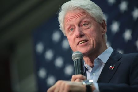 Bill Clinton stumps on behalf of his wife's presidential campaign in Arizona. 2016. Wikimedia commons photo