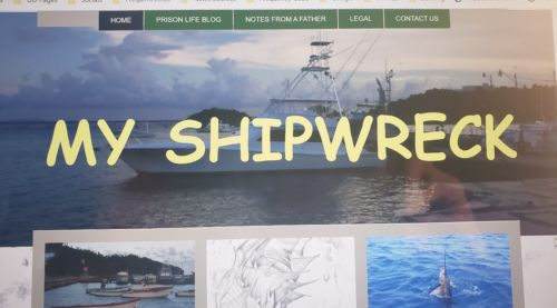 This is Mark B.'s blog, maintained by his brother. www.myshipwreck.com