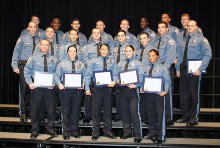 Arlington County Police Academy graduation, 127th class, flickr free photo