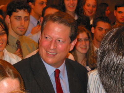 Gore's first major address since he conceded the 2000 Presidential Election. It was very moving. Date	25 July 2002, 13:42 Source	Al Gore Author	Sam Felder from Menlo Park, USA